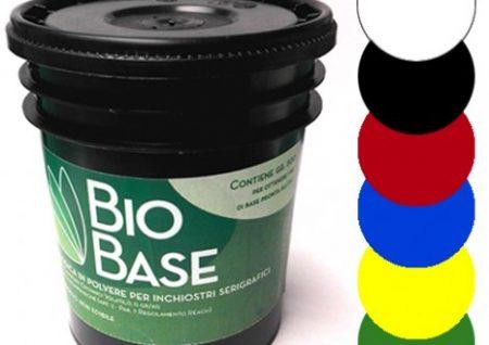 Tintas ecológicas para serigrafía Biobase