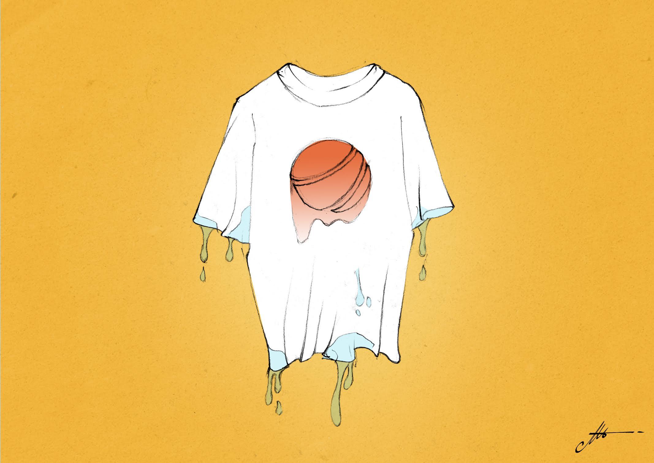 tinta base agua no resiste al lavado en las camisetas serigrafia