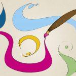 Las tintas para serigrafía se pueden utilizar para pintar a mano