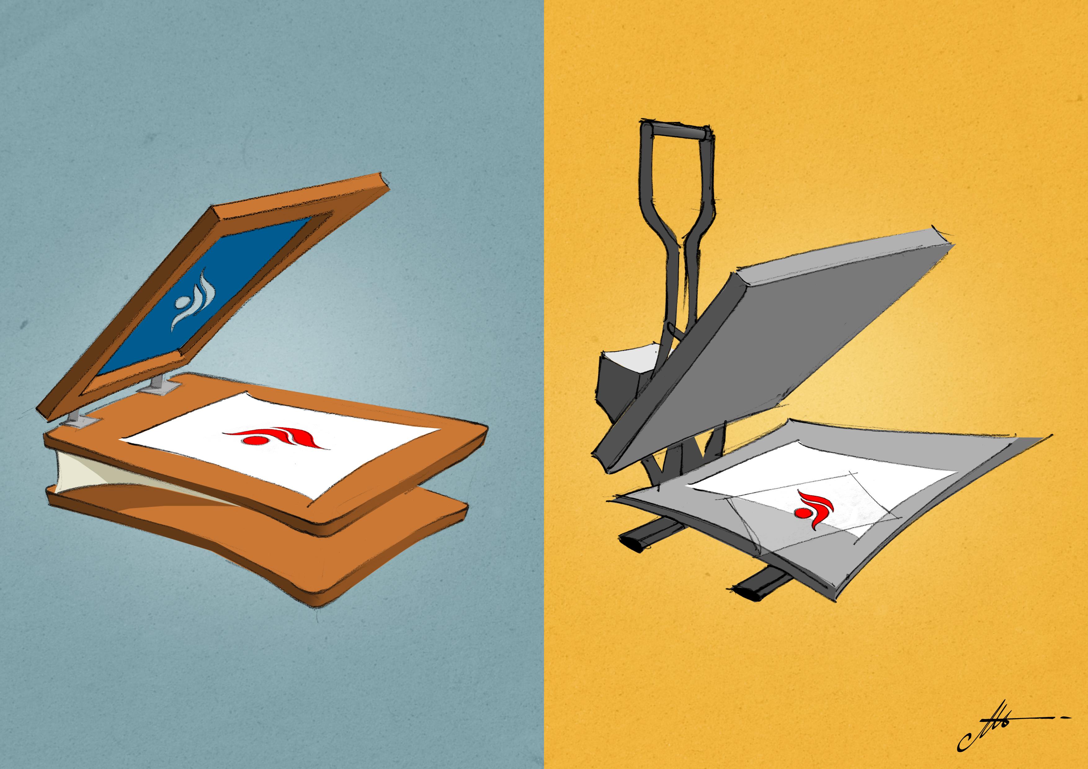 Estampar con Serigrafía o con Digital