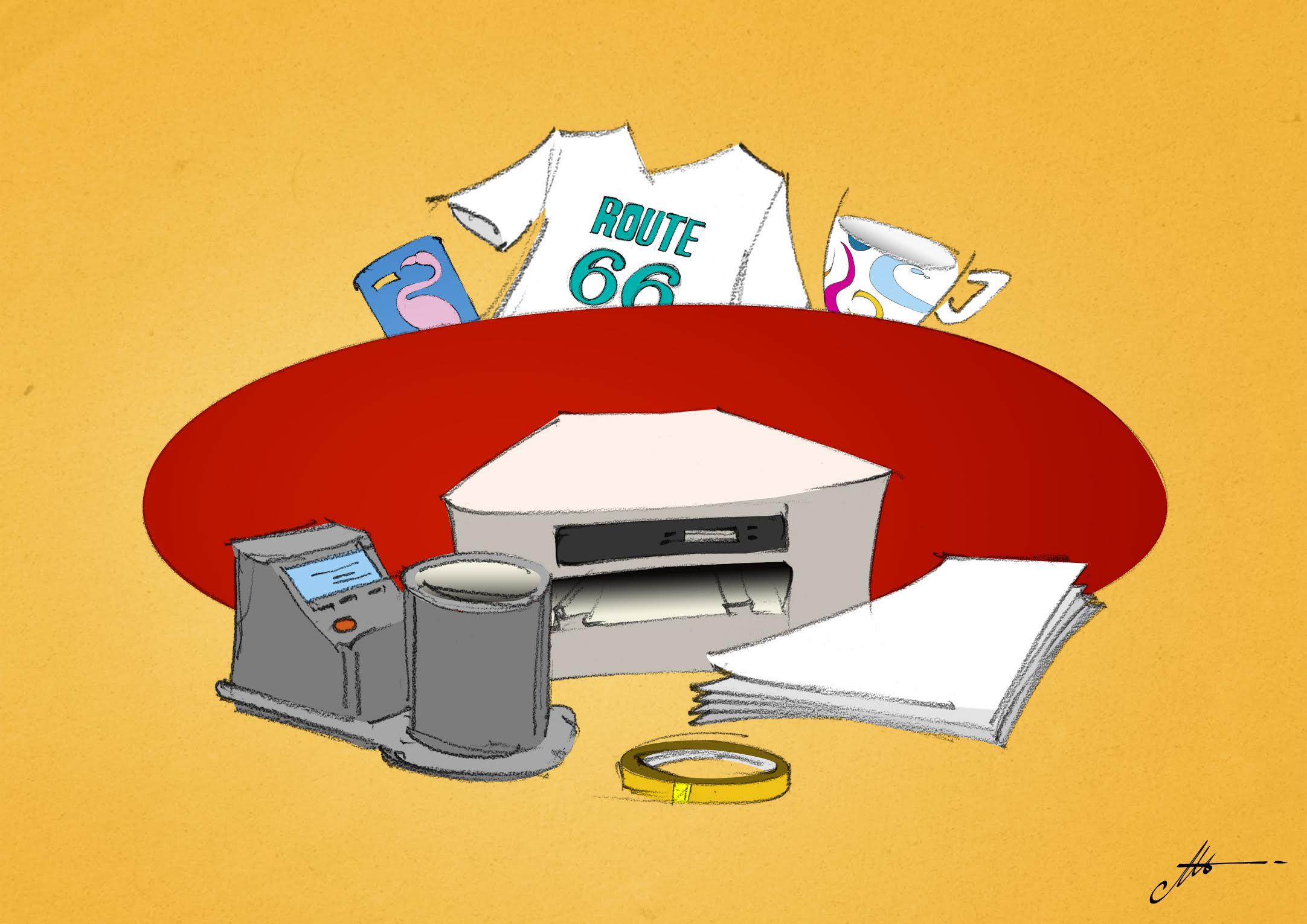 equipo necesario para imprimir por sublimación