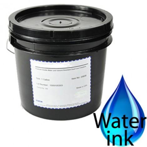 tintas base agua se secan en el bastidor